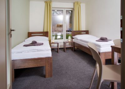 Ubytování - čtyřlůžkový pokoj či apartmán