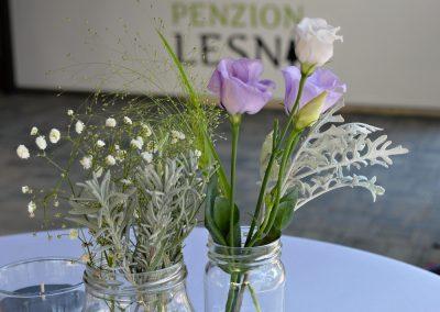 Svatby - Ubytování Milovice - Penzion Lesní