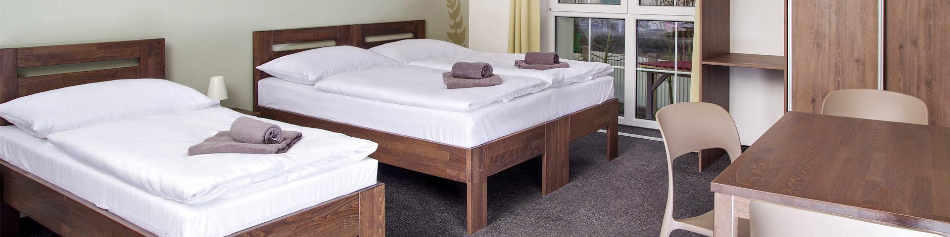 Ceník ubytování - pokoje, apartmány, služby