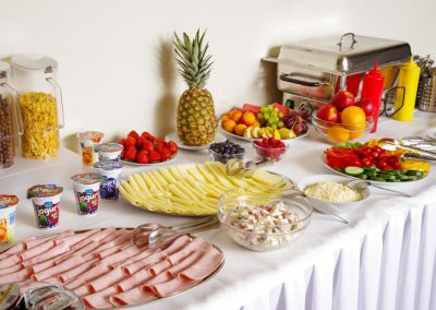 Snídaně - Ubytování Milovice - Penzion Lesní