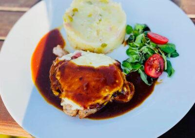 Restaurace Milovice - jídlo