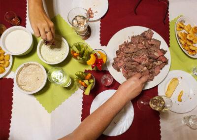 Restaurace Milovice - roastbeef