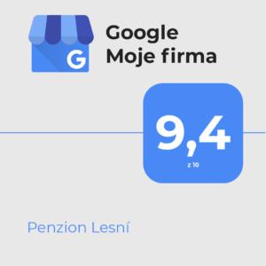 Hodnocení na google moje firma
