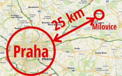 Ubytování v okolí Prahy