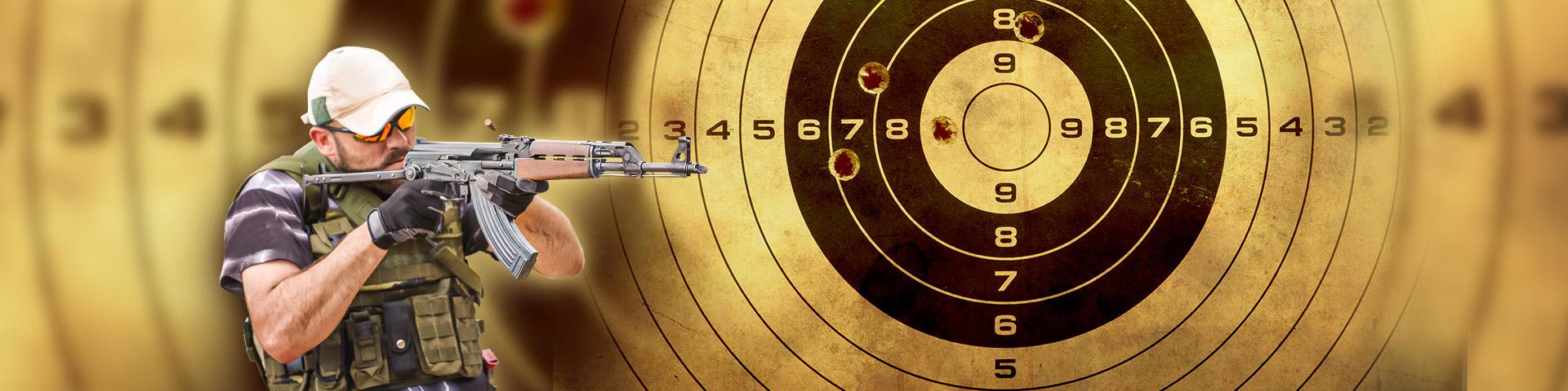 Střelnice - zážitková střelba
